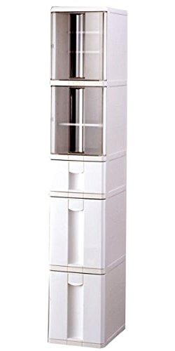 天馬キッチン収納ファビエキッチン用FK520アイボリー幅29X奥行40X高さ165.5cm