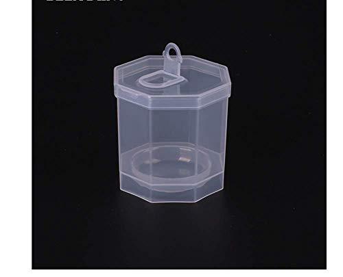 KUSAWE Éponge de maquillage 2 PCS Transparent Épaisseur en Plastique Maquillage Éponge Puff Holder Boîte De Rangement Stand Tenir Cas Cosmétique Blender Éponge Conteneurs Portable A
