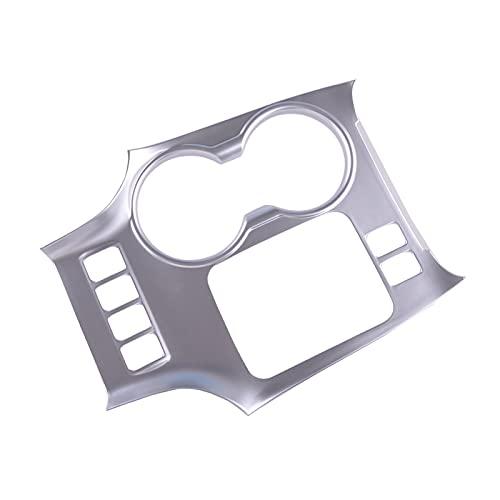 Associated Press Cubierta del Panel de la Caja del Cuadro de la Caja del Cambio de Ropa Interior del Coche de Plata APT para Toyota Highlander 2015 2016 2017 2017 2018 2019 Drive de la Mano Izquierda