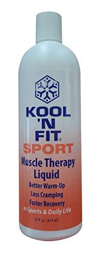 Kool N' Fit Sport Muscle Therapy Liquid Refill Bottle -16 Ounce