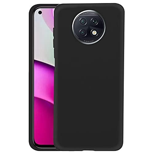 TBOC Funda de Gel TPU Negra Compatible con Xiaomi Redmi Note 9T [6.53 Pulgadas] Carcasa de Silicona Ultrafina y Flexible para Teléfono Móvil [No es Compatible con Xiaomi Redmi Note 9-Redmi Not