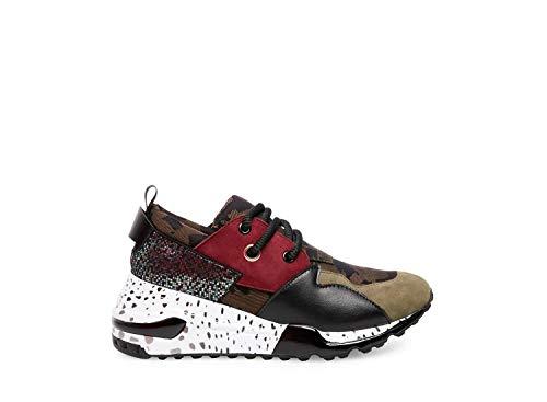 Price comparison product image Steve Madden Women's Cliff Sneaker,  Olive Multi,  6 M US