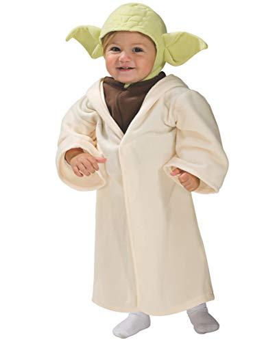 Horror-Shop Toddler Costume Yoda