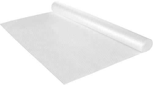 FEIGO Schubladenmatte Antirutschmatte Zuschneidbar Schrankmatte 150 x 45 cm - Für Küche, Bad, Büro, Werkstatt Wohnwagen (Transparent)