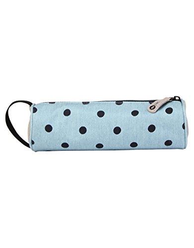Mi-Pac Mi-Pac Wash Bag Trousse de Toilette, 20 cm, Rose (Denim Polka Pink)