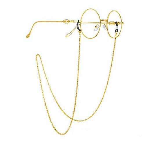 Casue anti-slip leesbril ketting brilband retro metalen ketting zonnebril retro zonnebril retro zonnebril houder lanyards eyewear reainer
