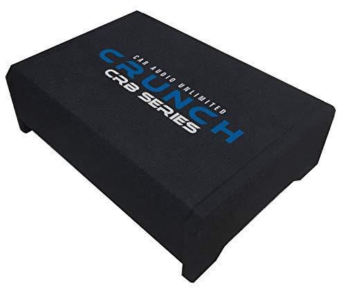 Crunch CRB200-20cm Bassrefex Downfire System Subwoofer Gehäuse