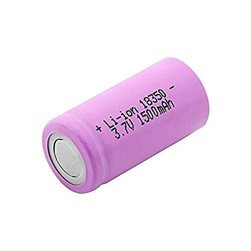3.7V 1500mAh 18350 Batería de Litio, batería de ión de Litio Recargable Alta Drenaje para Vape-4 Piezas