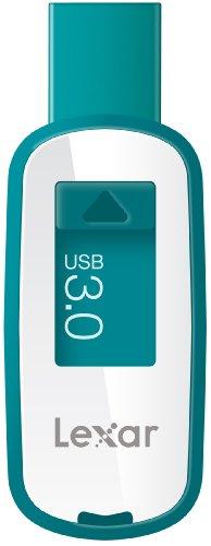 Lexar JumpDrive S25 16GB USB 3.0 Flash Drive LJDS25-16GABEU (Teal)