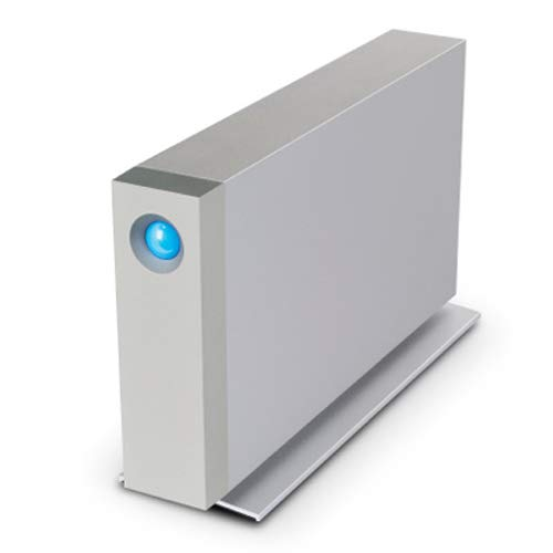Disco duro externo LaCie d2Thunderbolt 3y USB-C 3.1, 8 TB