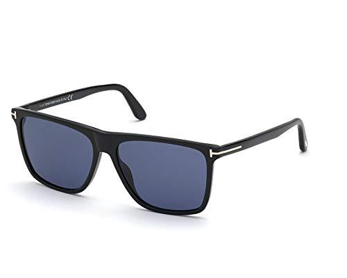 Tom Ford FLETHCER FT 0832 Shiny Black/Blue 57/15/145 Herren Sonnenbrillen