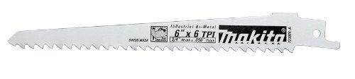 Makita 723078-A-5 8-Inch Prog. Wood Cutting Recip Blade, 5-Pack