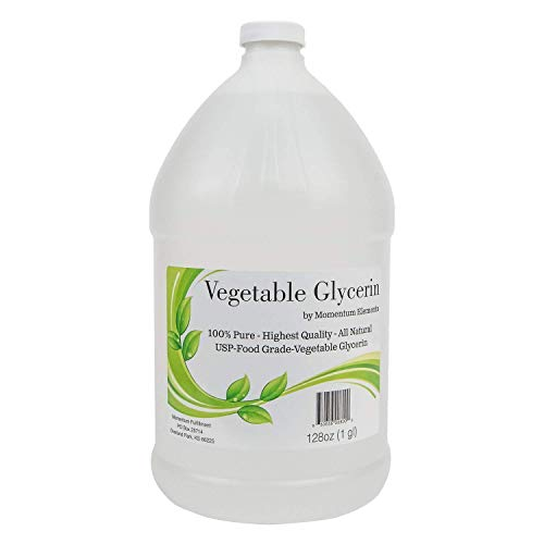 Vegetable Glycerin 100% Pure USP - 1 Gallon (128 oz) Food Grade All Natural Premium Quality and Made in The USA!