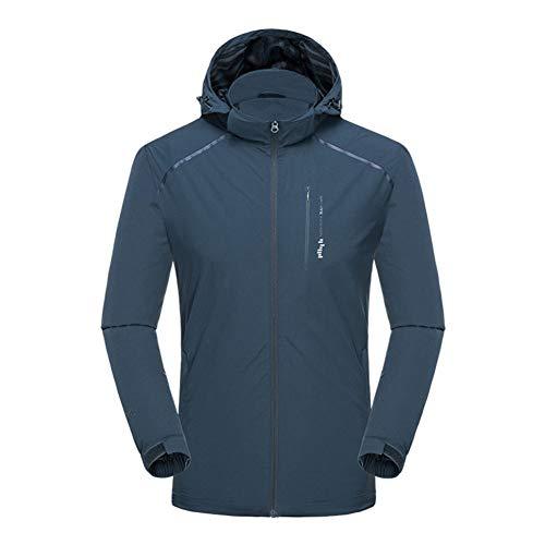 SHANGYI jas sneldrogende voetbal regenjas winter jas mannen waterdichte training hoodie jas