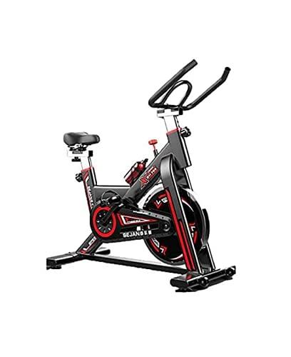 Acobonline Bicicleta Estatica Spinning Bici Spinning Bicicleta Profesional para Uso domestico con Monitor Calidad Profesional (Negro) ⭐