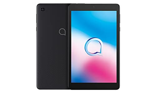Alcatel 3T 8 9032T (32GB, 2GB) 8.0' Cellular Tablet with Calling, 4080mAh Battery, Face Unlock, Android 10, GPS, US 4G LTE GSM Unlocked (T-Mobile, AT&T, Metro, Straight Talk) (Black)