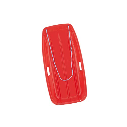 Superio Long Kids Snow Sled (Red)