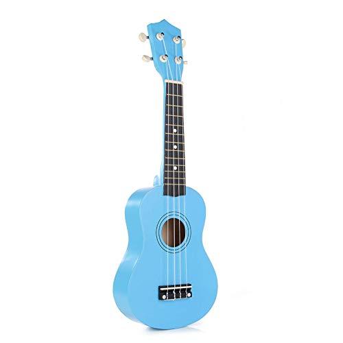 Cutaway - Ukelele soprano de guitarra de tilo, instrumento musical con bolsa de concierto, afinador, ukelele de concierto