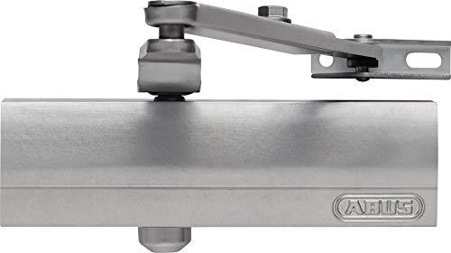 Abus Türschließer AC7023 S Silber, Für Brandschutztüren geeignet, Türgewicht bis 80 kg, Türbreite bis 110 cm