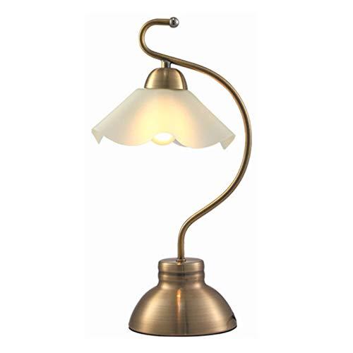 Moderna Lámpara de Mesa Lámpara de mesa de metal lámpara de escritorio de arco vintage con lámpara de cristal Lámpara de sensor de tacto de tres velocidades Dormitorio de tres velocidades Estudio de l