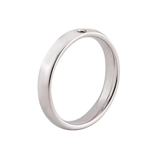 MelanO Twisted Ring Tracy Edelstahl Gr. 58 (18.5)