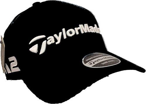 TaylorMade Herren 2017 M1 & M2 Tour Radar Einstellbare Kappe Hut Schwarz