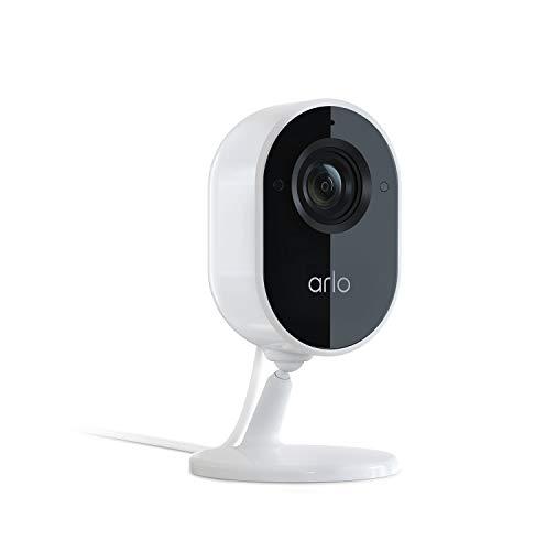 Arlo Essential |Caméra de surveillance Wifi intérieure et filaire, 1080P, audio bidirectionnel,...