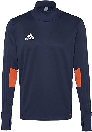adidas Herren Tiro 17 Trainingsshirt, Collegiate Navy/Energy/White, XL