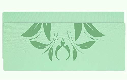 B/H Esterilla Deporte,Esterilla de Yoga para Principiantes Fitness Mat-Green_185 * 80 * 1,Yoga Mat diseñado para Entrenamiento físico