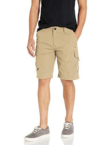 Fox Herren Slambozo Canvas Camo Cargo Shorts, Herren, Cargohose, Dunkles kaki, 38