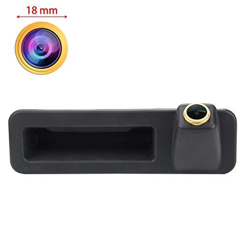 HD Goldene Kamera 1280x720p Nachtsicht Rückfahrkamera Einparkkamera Farbkamera Wasserdicht Farb Rueckfahrkamera für BMW X3 F25 X4 F26 X5 F15 3er F30 5er F10 F11