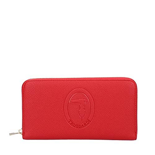 Trussardi Jeans Portafoglio Iris Red MOD. 75W002869Y099998 Red