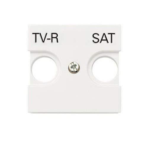 Niessen N2250.1 BL Tapa Toma TV-R/Sat, Blanco