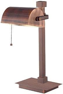 Kenroy Home 32008VC Welker Desk Lamps, Vintage Copper Finish