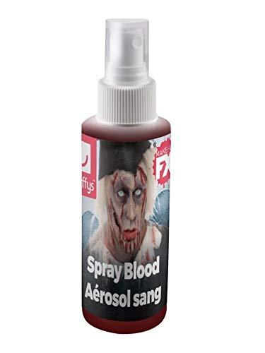 Smiffys Aérosol sang, action à pompe