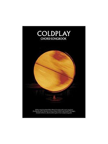 Coldplay: Parachutes (Chord Songbook). Partitions pour Paroles et Accords (Boîtes d\'Accord)