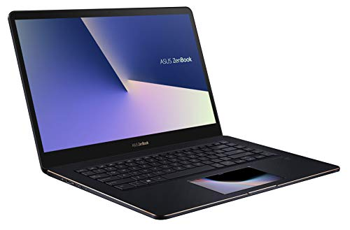 ASUS ZenBook Pro 15 UX580GE (90NB0I83-M03700) 39,6 cm (15,6 Zoll, FHD, WV, matt) Ultrabook (Intel Core i7-8750H, 16GB RAM, 512GB SSD, NVIDIA GeForce GTX 1050 Ti (4GB), Windows 10) Deep Dive Blue