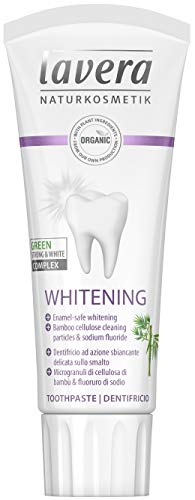Lavera Toothpaste (Whitening) - With Bamboo Cellulose Cleaning Particles & Sodium Fluoride 75ml/2.5oz