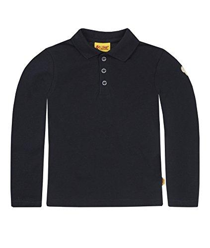 Steiff Steiff Unisex Baby 6864 Poloshirt, Blau (Marine 3032), 18-24 Monate (herstellergröße: 92)