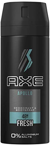 Axe Deospray Apollo Deo ohne Aluminium mit effektivem Schutz vor Körpergeruch 150 ml 1 Stück