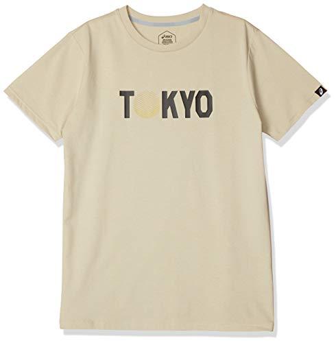 [アシックス] トレーニングウエア TOKYOヘリテージ 半袖シャツ 2031B838 メンズ パティ 日本 XS (日本サイズXS相当)