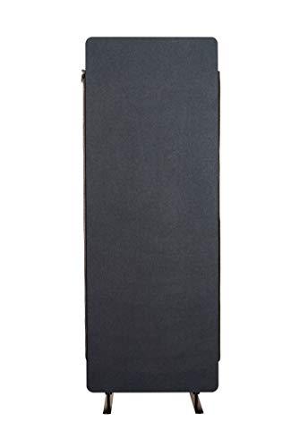 S Stand Up Desk Store ReFocus Akustik-Raumteiler - Büro-Trennwände (Midnight Blue, 24