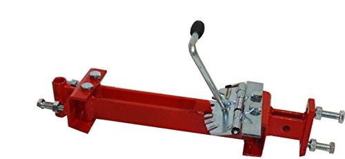 Bricoferr PT6000691 Enganche de arados con ajustador de posición lateral