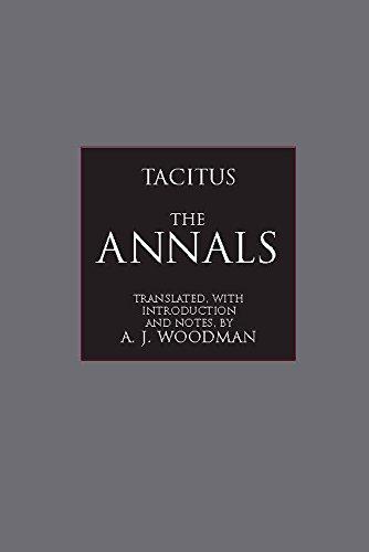 The Annals (Hackett Classics)