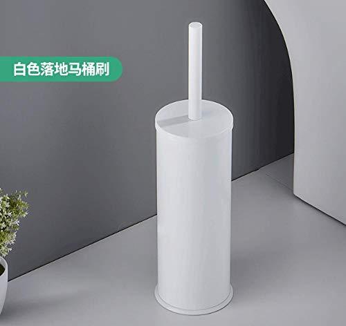 Fslt Toilettenbürste Toilettenbürstenfreier Einbau Bodentyp Toilettenreinigungsbürstenset Mit Deo-Toilettenbürste-Weiß