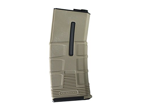I.C.S. ICS Airsoft M4 / M16 TMAG HighCap Magazin -TAN- (300 BBS) [MA-245]