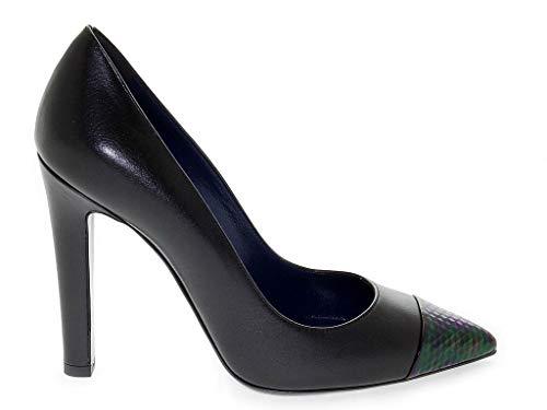 Pollini Luxury Fashion Damen 1007BLACK Schwarz Pumps | Jahreszeit Outlet
