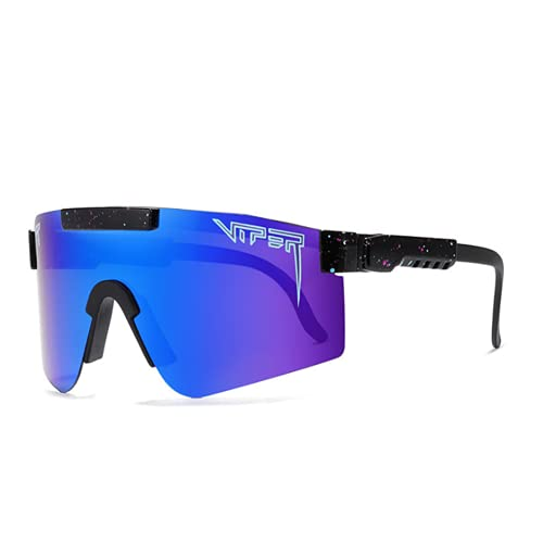 DKBE Gafas de Sol Deportivas polarizadas, Hombres Hombres conduciendo Tonos de Ciclismo, Gafas de Gafas de Deportes, para Pescar Ciclismo y Correr