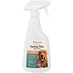 NaturVet Herbal Flea Spray Homemade ...