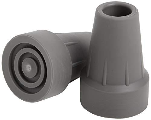 Medline Guardian Super stampella punta, grigio, 1 paio di punte per stampella